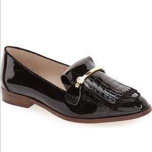Louise et Cie Kiltie Fringe Leather Loafers 6.5